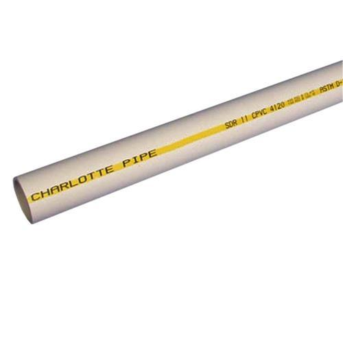 6m White UPVC Pipe