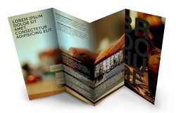 Text and Photo pritning Paper Pamphlet Printing Service