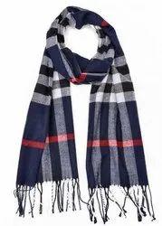 Vp Oswal Men Check Woolen Scarves