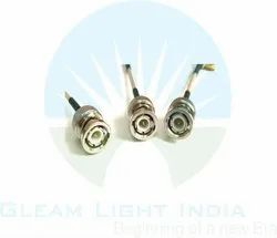 RF Cable Assembly BNC Male to SMA Male Right Angle in RG316