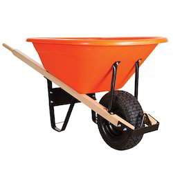 Single Wheel Barrow Hand Trolley