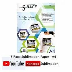 S Race Sublimation Paper A4