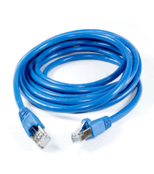 Blue Cat 5 Cable
