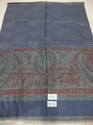 Fine Wool Cashmere Kaani Border Stoles