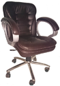 Low Back Executive Chair in Brown Colour