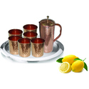 Stainless Steel & Copper Lemon Set