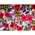 One Week Digital Floral Print Digital Fabric Printing Service