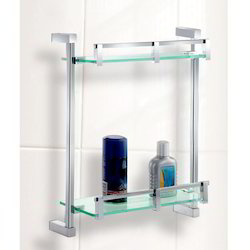 Front Glass Double Shelf