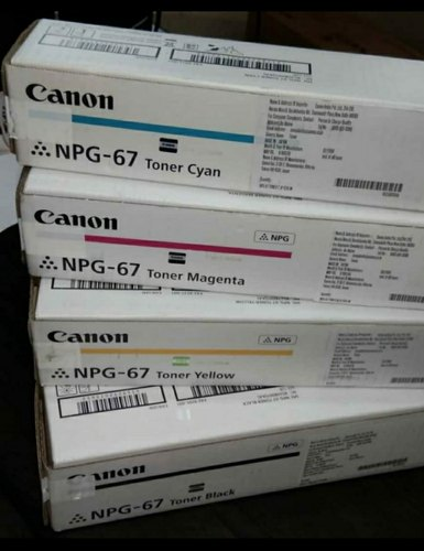 Canon NPG 67 Toner Cartridge Set