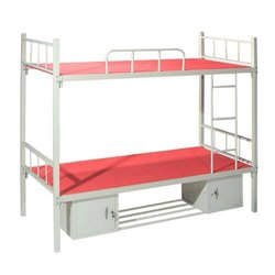 Iron Bunk Beds With Storage For Hostel