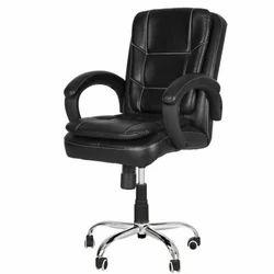 Leatherite Black Chair