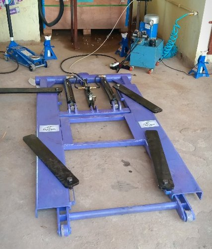 Hydraulic Car Lift & Lathe Machine Job Work Manufacturer