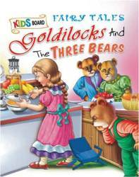 Kids Board Fairy Tales Goldilocks And The Three Bears