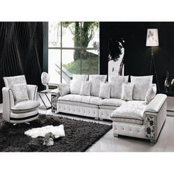 Living Room Trendy L Shape Sofa