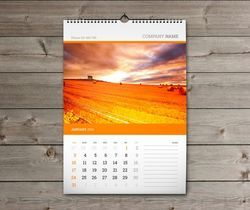 Wall Calender's Printing services