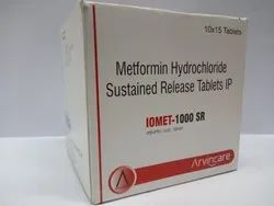 IOMET 1000SR Pharmaceutical Drug
