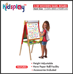 Wooden Easel Board 3.5 ft KP-TTP-ET217
