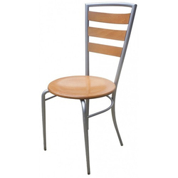 Wooden Steel Chair