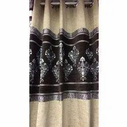Door Cotton Silk Curtain