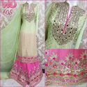 Party Wear Sharara Suit W-605