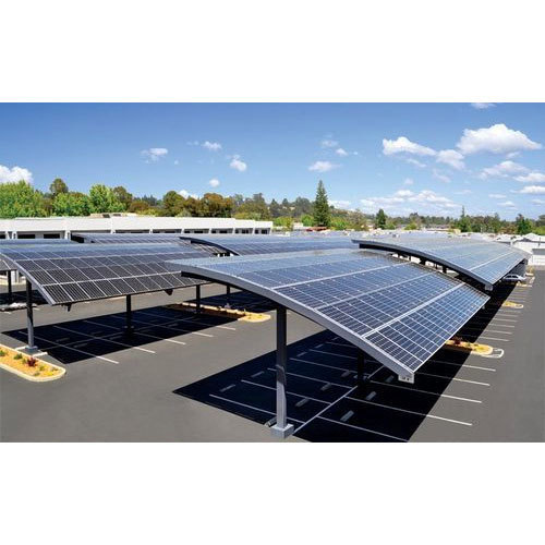 Commercial Solar Carport, Commercial Solar Carports, Louvered Styles ...