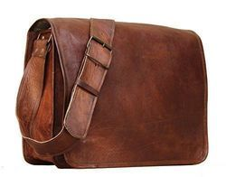 Handmade Leather Bag,  Vintage Leather Bag, Goat Leather Bag, Messenger Bag