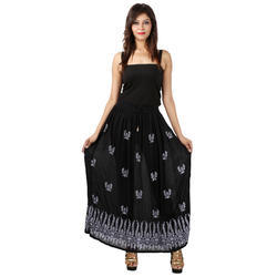 Indian Women's Printed Skirt