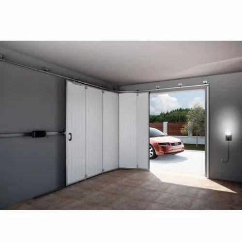 100W Steel Sectional Garage Door, Rs 88880 /unit Bright Automation   ID:  20614933688