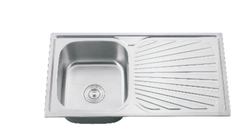 Kitchen Sink 900x500mm 0.4mm