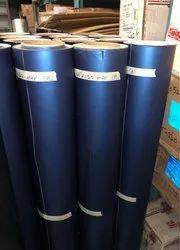 Car Wrapping Vinyl Material Blue Matt Metallic