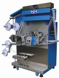 Flexographic Garment Label Printing Machine with Compressor