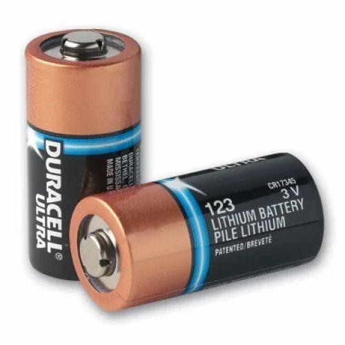 123 CR17345 Duracell Lithium Battery
