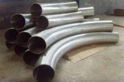 Stainless steel long radius bends