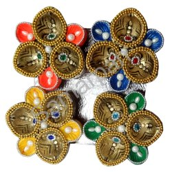 Golden Stone Diya 7092004891145
