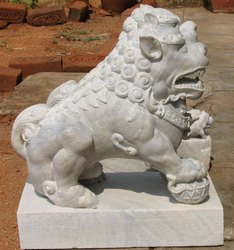 Stone Lions Statue