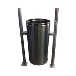 Stainless Steel Dustbin Single Bucket