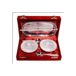 Silver Plated Capsule Set