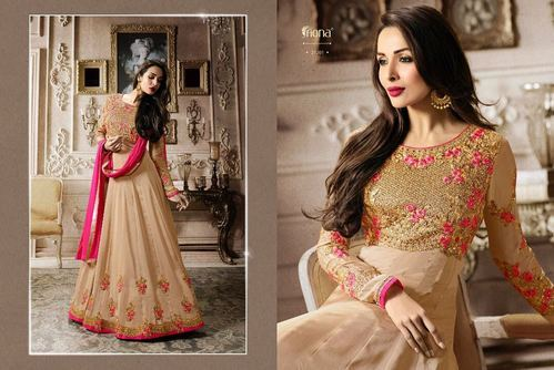 a45717da Georgette Embroidered Party Wear Anarkali Suits, Rs 2098 /piece | ID ...