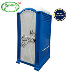 Blue Portable Toilet
