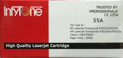 55A (CE 255A) Compatible Toner Cartridge For HP Printers