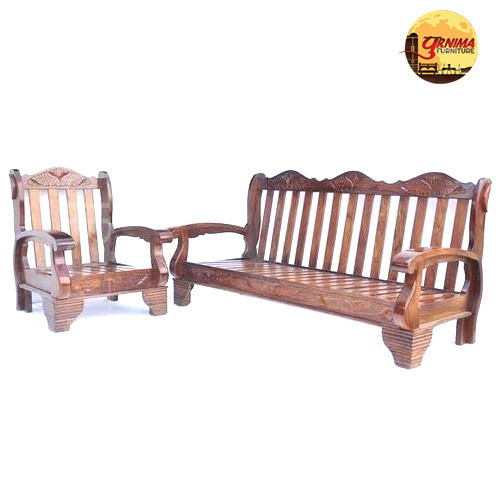 Wooden Sofa Set