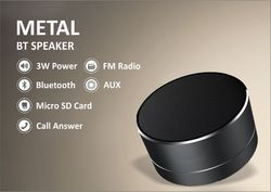 Metal Bluetooth Speaker