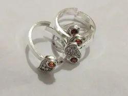 Silver Micro Toe Rings