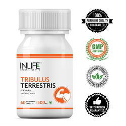 INLIFE Body Growth Tribulus Terrestris Capsules, Packaging Type: Hdpe Bottle, Packaging Size: 60