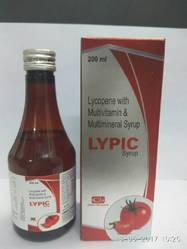 Lycopene with Multivitamin & Multimineral Syrup