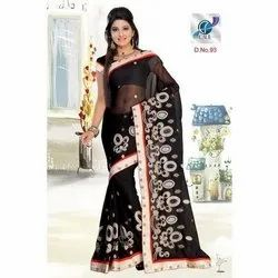 Fancy Printed Chiffon Sarees