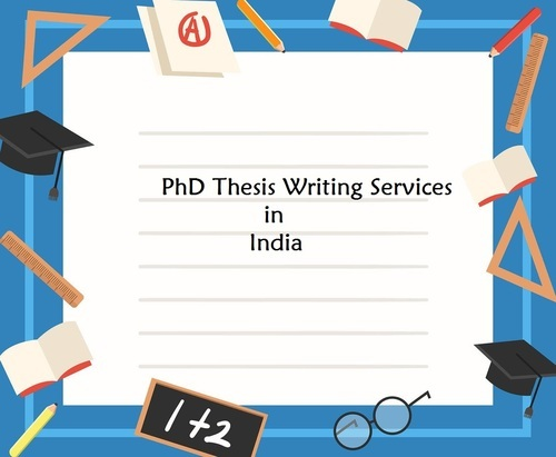 phd thesis writing services in india