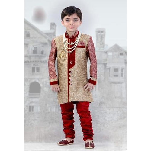 8bab0bda Available In Many Colors Kids Indo Western Wear Sherwani, Rs 700 ...