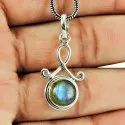 925 Sterling Silver Turquoise Pendant