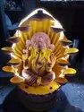 Lord Ganpati Ganesha Decorative Indoor Waterfall Water Fountain
